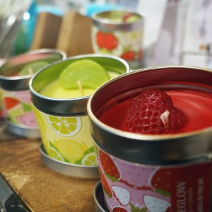 These little tinned candles pack some serious punch when it comes to scent - and they're made in Britain too!